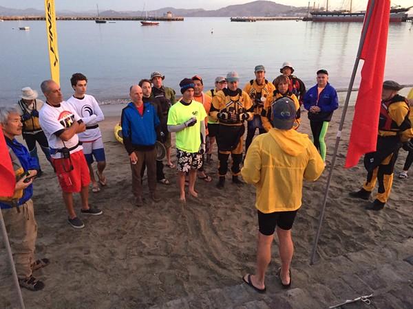 Alcatraz Swim with the Centurions 2015