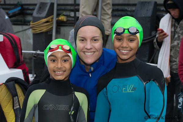 Golden Gate Bridge Swim - October 11, 2014
